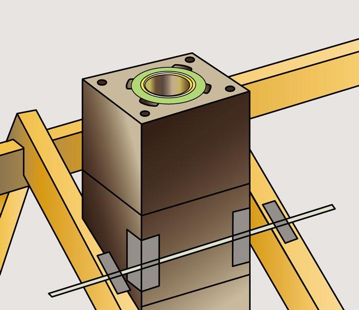 минимальный диаметр дымохода газовой колонки