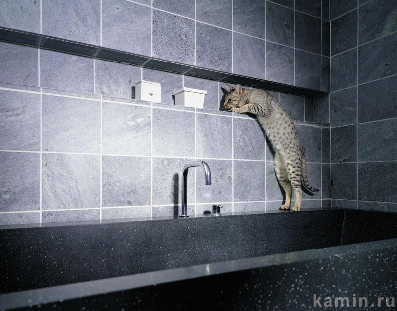 Домотехника: Талькомагнезит в отделке ванной комнаты