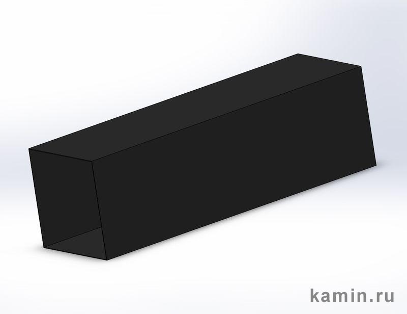 Traforart: Дополнительная труба внешнего кожуха, 1 метр, черная