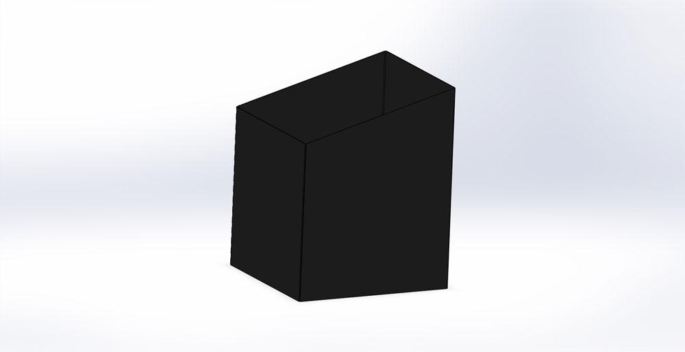 Traforart. Телескопический элемент для наклонного потолка, черный