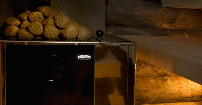 Как правильно подобрать камни для банной печи